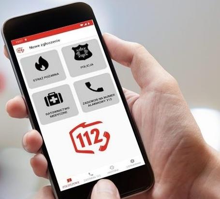Aplikacja Alarm112